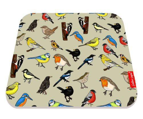 Selina-Jayne British Birds Limited Edition Designer Mouse Mat